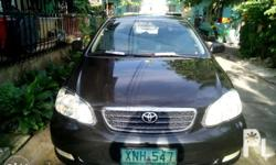 for sale my toyota altis e,2004 model,manual,cool