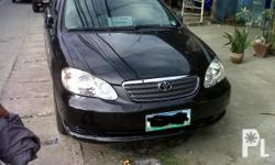 2004toyota ALTIS j 1.6 MANUAL see too apreciate nlng