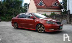 Selling my Toyota Altis S 1.6 2007 model Manual