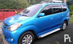 Avanza 1.5G Automatic transmission 8 seater with 3rd
