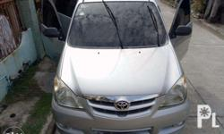 toyota avanza silver metallic still in q good condition