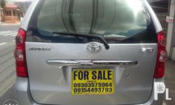 toyota avanza 1.5g a/t 2009 orig silver paint low