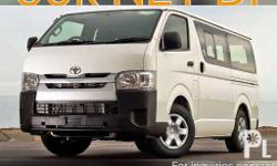 Toyota Hiace Commuter for only 99,000 NET DP and 28,265
