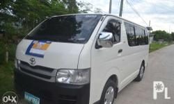 for sale toyota commuter hiace model 2010 first own