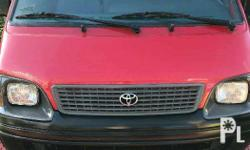 Toyota Commuter Van 2000 Year 170,000 km mileage 4.0L