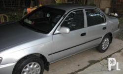 Description Make: Toyota Model: Corolla Mileage: