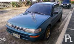 corolla xe,strong aircon,updated papres,bacolod plate