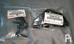 Toyota Corolla Altis bumper clips and retainer Original
