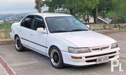 For Sale: Toyota Corolla GLi 98 Manual transmission