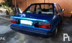 Our old family car is in good shape, reliable engine,