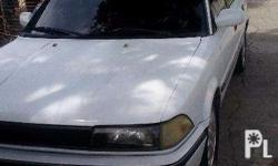 Selling my small body toyota corolla 1991 model.