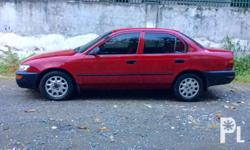 For sale Corolla Fresh unit Lata ang body All 4 tire