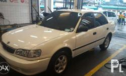 1.3 Toyota Corolla XE 2000 Manual Transmission All