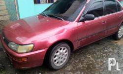 RUSH FOR SALE! TOYOTA COROLLA XL 96 MODEL. Php: 125,000
