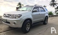 For Sale!!! Toyota Fortuner G Model 2006 120,xxx