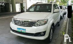 2012 Toyota Fortuner 2.5 D4D Turbo Diesel Engine A/T