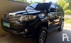 Toyota fortuner, 2012 model, authomatic, diesel,,