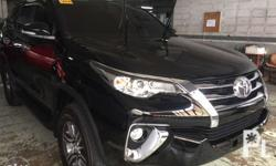 Fortuner 4X2 G DSL AT 1,476,000 Base on 15% down