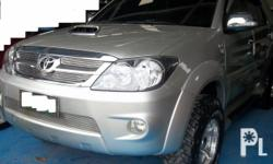 Deskripsiyon Gawin: Toyota Modelo: Fortuner Mileage: