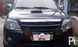 4x4 Toyota Fortuner V 2007 Automatic IronMan Under