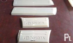 Toyota Fortuner OEM body cladding ABS plastic, 5,000