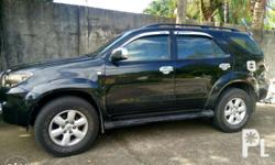 For sale TOYOTA FORTUNER Model 2011 Automatic