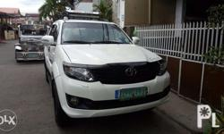 - Toyota Fortuner G 2006 - 84,000km - Great condition -