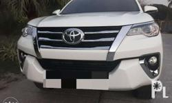 Toyota Fortuner G 2017 at dsl low milege Brand new