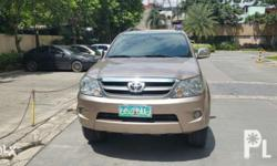 �Toyota Fortuner G 2007 automatic transmission