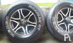 16 inches mags with NEXEN TIRES (265/70 R16) 45% Thread