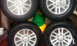 For sale: Toyota fortuner mags with tires 4pcs Set