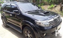Toyota fortuner Manual,diesel Loaded accessories Thick