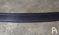 Toyota Fortuner Rear Bumper Step Sil 2016-17 Black we