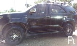 Toyota fortuner 2006 model 4x2 Gas Updated registration
