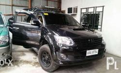 Toyota Fortuner V 2014 Automatic Transmission