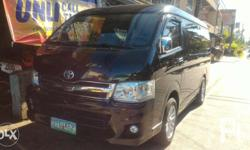 TOYOTA Gl grandia 2012 model manual transmission 67k+