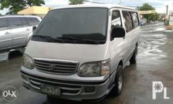 Toyota hi ace grandia 3.0 Local purchase Diesel manual