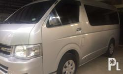 Toyota Hiace GL Grandia D4D Manual Diesel 2013 model
