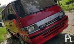 1997 Toyota Hi-ace van Good condition previously used