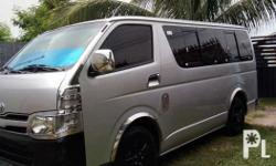 Toyota hi ace commuter 2013 Private First owner Low