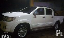 TOYOTA Hi Lux Pick up Freedom White Automatic 2.5G