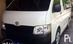 toyota hiace comuter 2013 model..all stock very