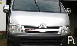 For sale Toyota hiace commuter 2011 model 86t mileage