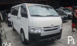 For Sale Toyota Hiace 2017 Commuter Manual White