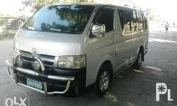 Toyota hiace commuter D4d 2.5 diesel Mags, cool aircon
