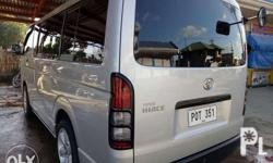 Forsale ALL Orig NO ISSUE Toyota hiace commuter 2011
