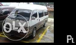 For Sale !!! � 250,000 Toyota Hiace Van 3.L Engine
