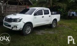 Toyota Hilux 2013 4x4 3.0 Matic Body is need repair