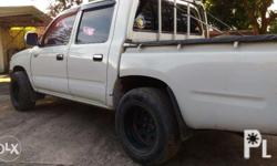 Hilux 4x2 2001 good condition w/ aircon, newly