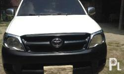 Toyota hilux 4x2, with aluminum step board w/ led,